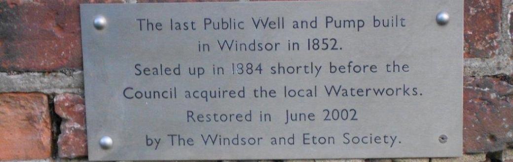 Windsor & Eton Society - About